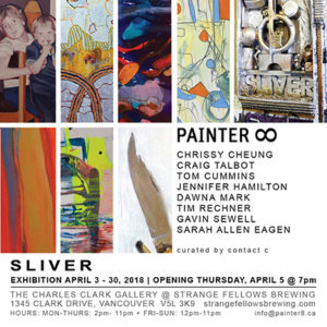 PAINTER8 Sliver exhibition card