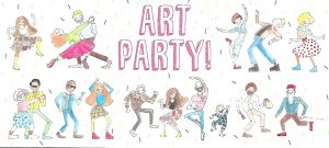 Art party, Seymour Art Gallery