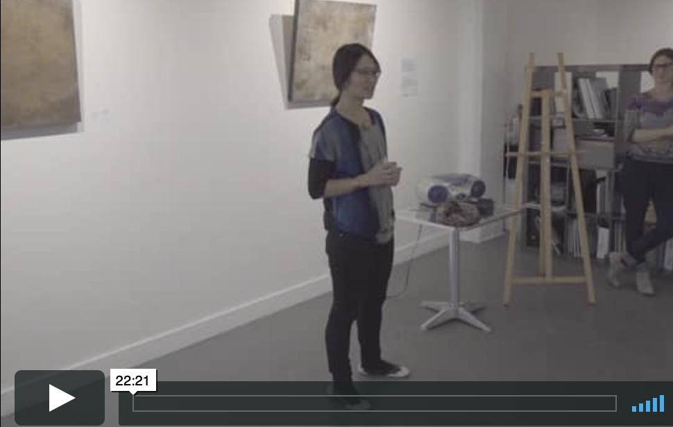 discours d'artiste par Chrissy Cheung