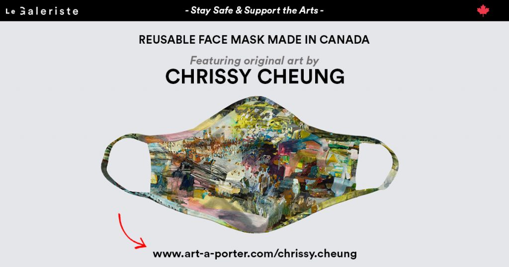 Chrissy Cheung, art wearables mask